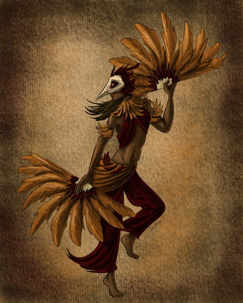 Bird Dancer